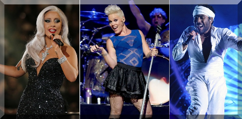 2018 GRAMMY first Performers Lady Gaga, Pink, Childish Gambino Confirmed